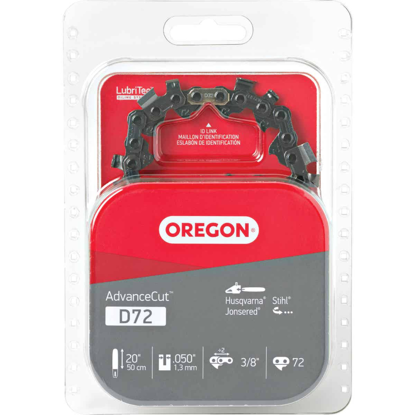 Oregon AdvanceCut D72 20/21 In. Chainsaw Chain Image 1