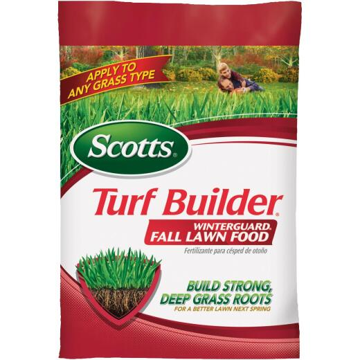 Scotts Turf Builder WinterGuard 37.5 Lb. 15,000 Sq. Ft. 32-0-10 Winterizer Fall Fertilizer