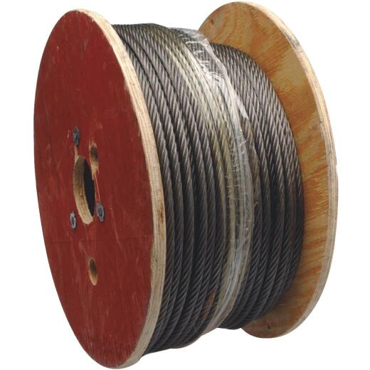 Campbell 1/8 In. x 100 Ft. Vinyl-Coated Galvanized Cable