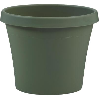 Bloem Terra Living Green 14.17 In. H. x 16 In. Dia. Polypropylene Planter