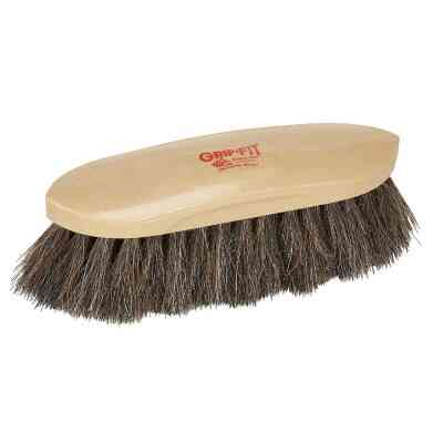Decker Horse Hair Bristles 2 In. Trim Size Grooming Brush