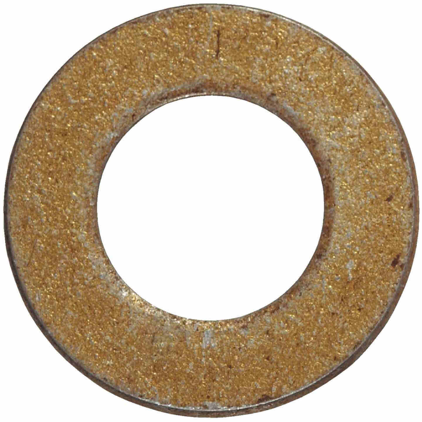 Hillman 5/16 In. SAE Hardened Steel Yellow Dichromate Flat Washer (100 Ct.) Image 1