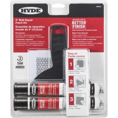 Hyde Better Finish Wall Repair Patch Kit (6-Piece)