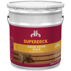 Duckback SUPERDECK Self Priming Solid Color Stain, Brillant White, 5 Gal Image 1