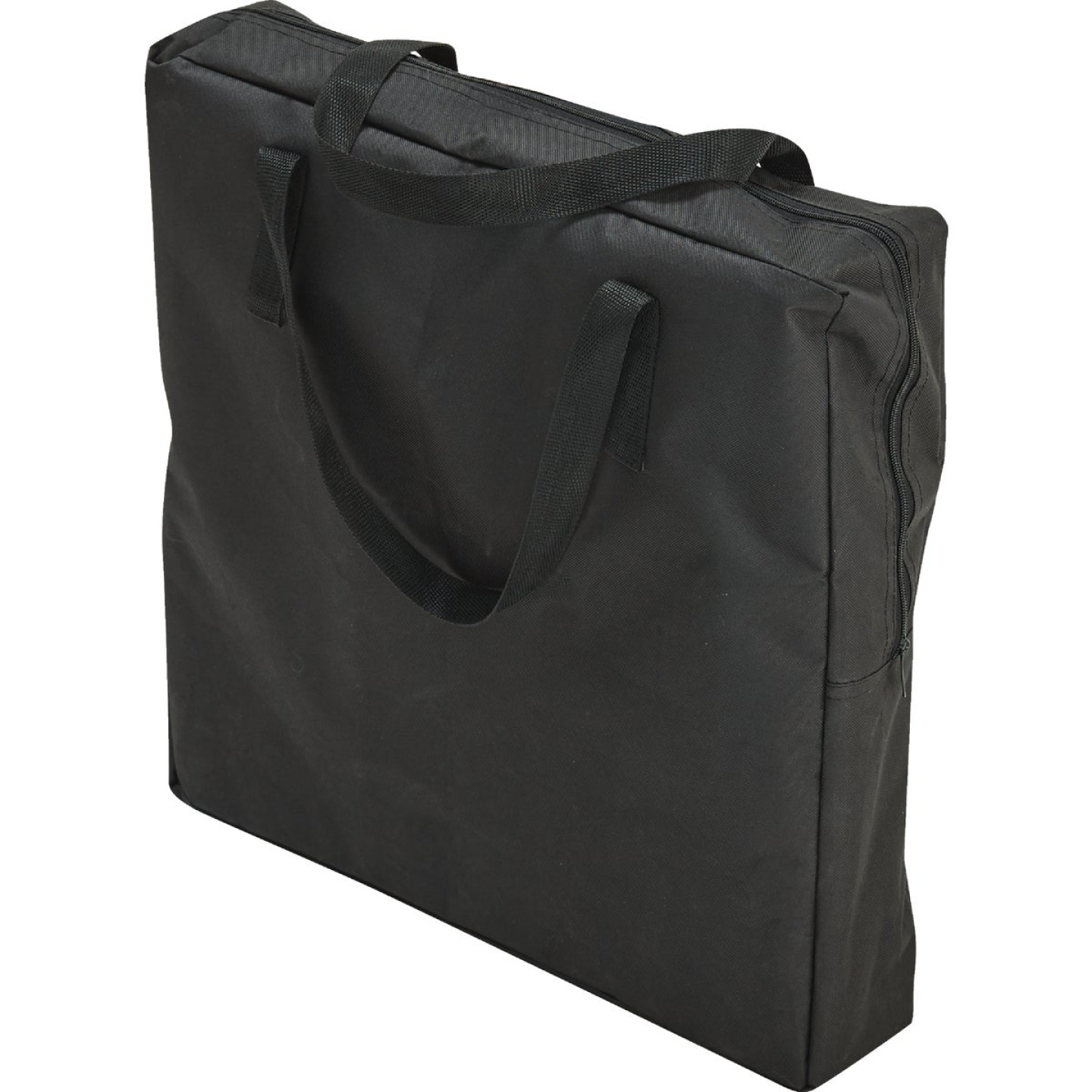 Outdoor Expressions Black Polyester Director Camp Folding Chair with Side Table Image 6
