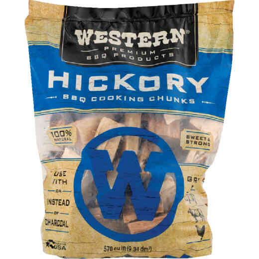 Western 6 Lb. Hickory Wood Smoking Chunks