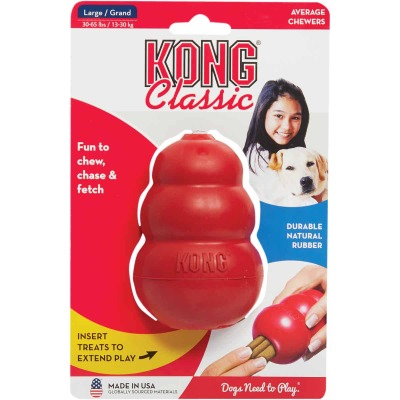 Kong Classic Dog Chew Toy, 30 to 60 Lb.