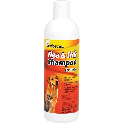 Enforcer 16 Oz. Flea & Tick Pet Shampoo