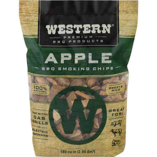 Western 2 Lb. Apple Wood Smoking Chips