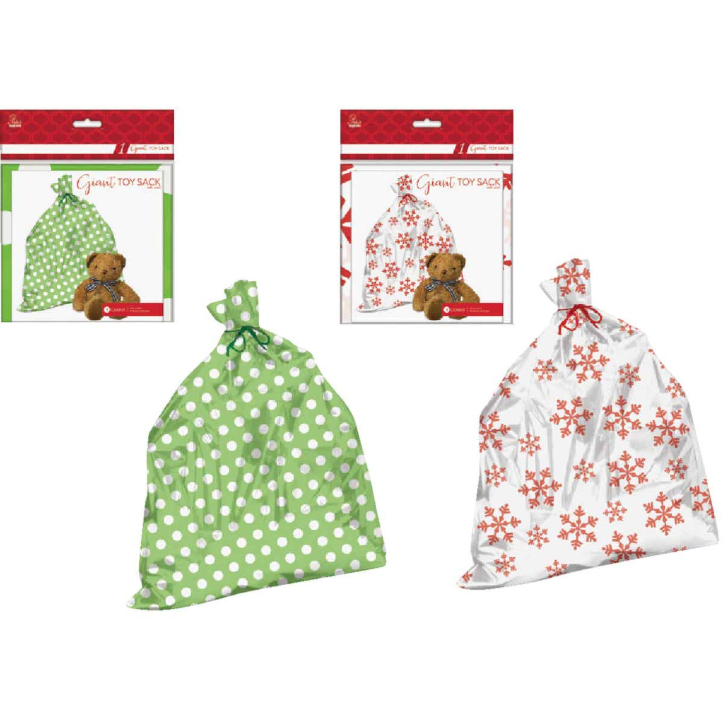 Paper Images Giant Plastic Toy/Gift Sack Image 1